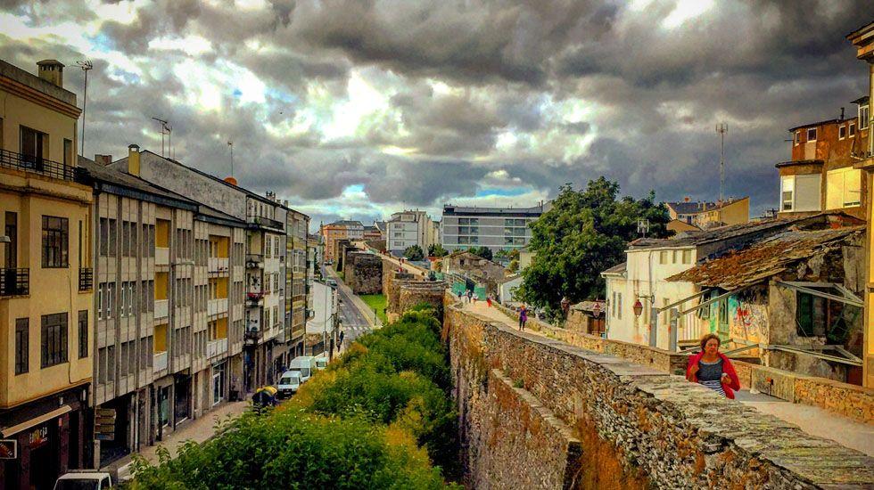 Muralla romana. Lugo.Muralla romana. Lugo