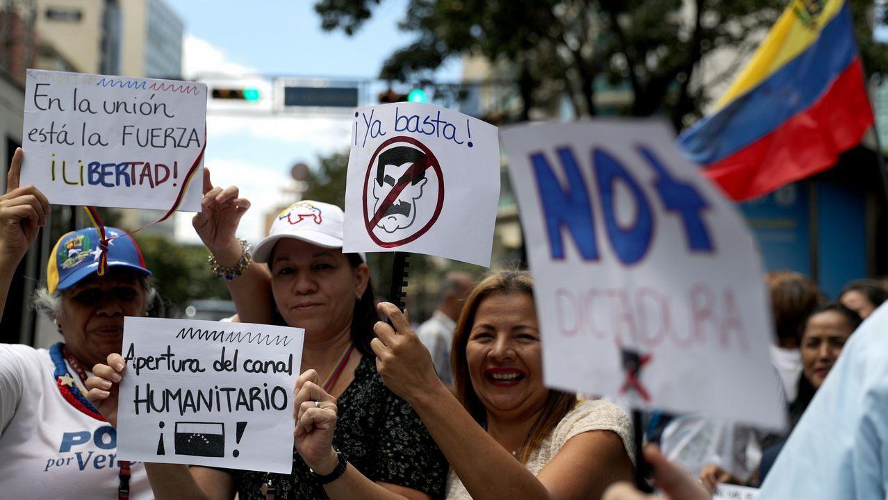 Los opositores al régimen de Maduro salieron a las calles para exigir el fin de la crisis y respaldar al autoproclamado presidente Juan Guaidó