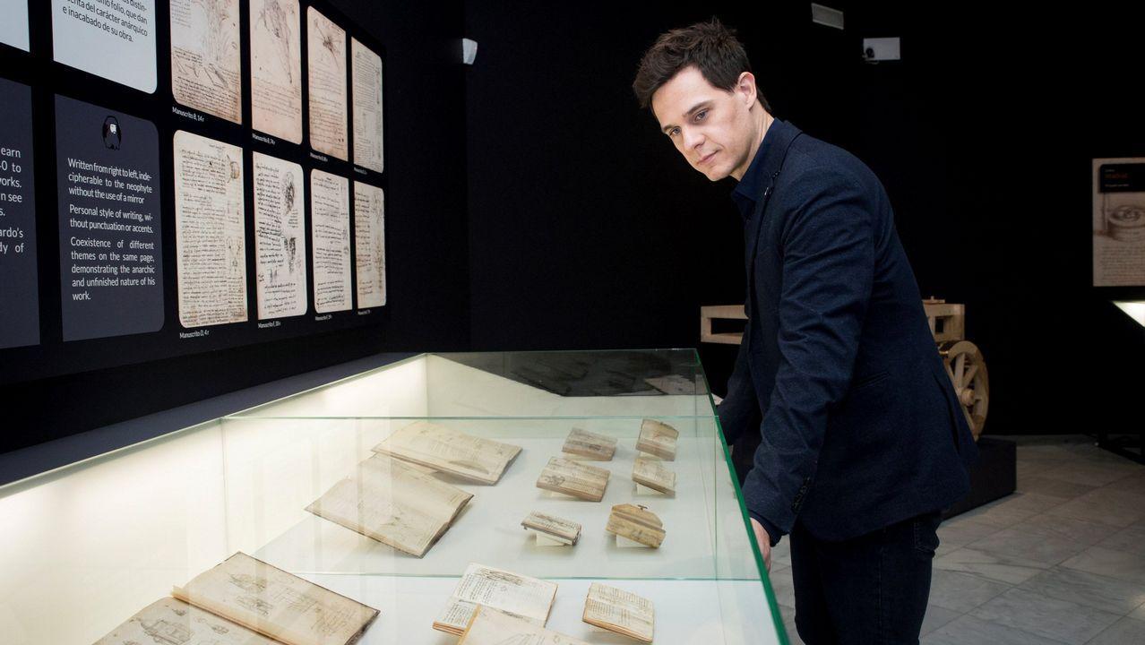 «Leonardo da Vinci: los rostros del genio».El escritor y cineasta francés Éric Vuillard, premio Goncourt en el 2017 por su novela «El orden del día»