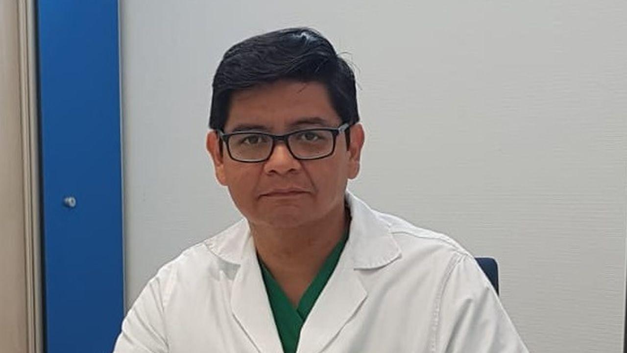Un 10 en reanimación cardiopulmonar.Raymundo Ocaranza, hemodinamista en el HULA