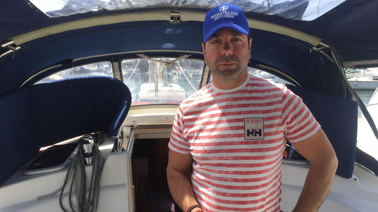 Agra no dudó en coger su embarcación para colaborar en el rescate