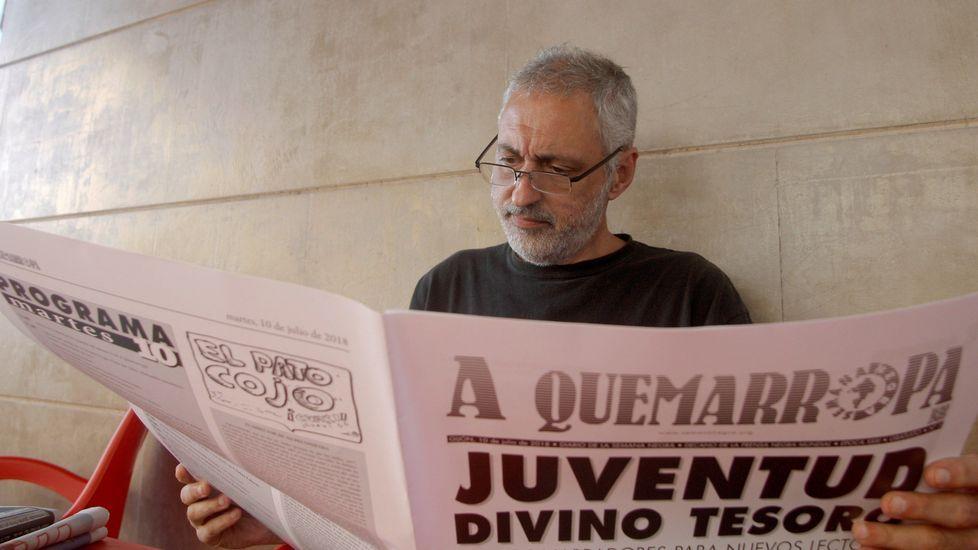 .Rafael Massa, en la Semana Negra de Gijón