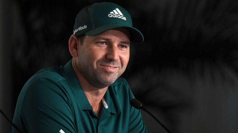 Jon Rahm, que jugó su primer «grand slam» hace doce meses en el US Open, se declara entusiasmado con Erin Hills.