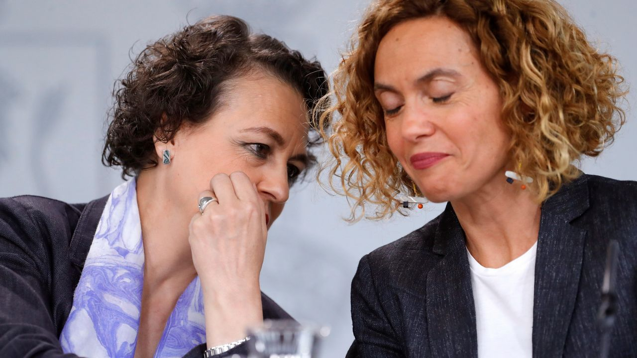 Las ministras de Trabajo y de Política Territorial y Función Pública, Magdalena Valerio y Meritxel Batet