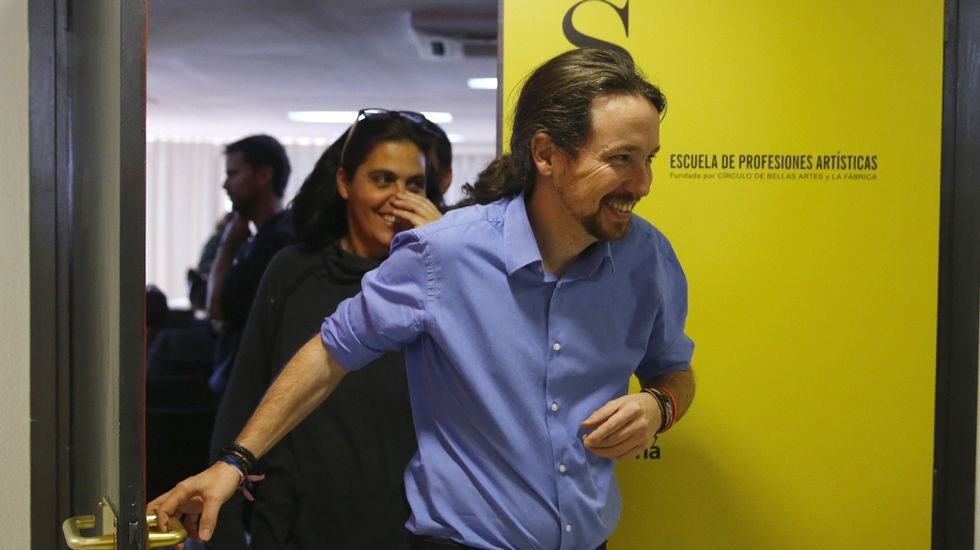 Primeras palabras de Errejón e Iglesias tras los cambios en Podemos.El exvicealcalde del Ayuntamiento de Madrid, Manuel Cobo