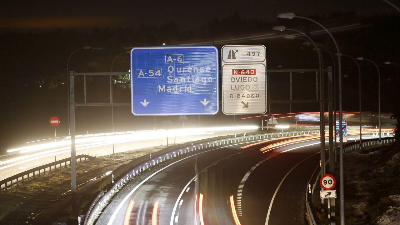Tráfico aprovecha la campaña de Semana Santa para concienciar a peatones y conductores.Autovía A-52 sentido Madrid