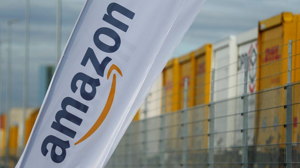 Centro de logística de la Amazon en Dortmund, Alemania