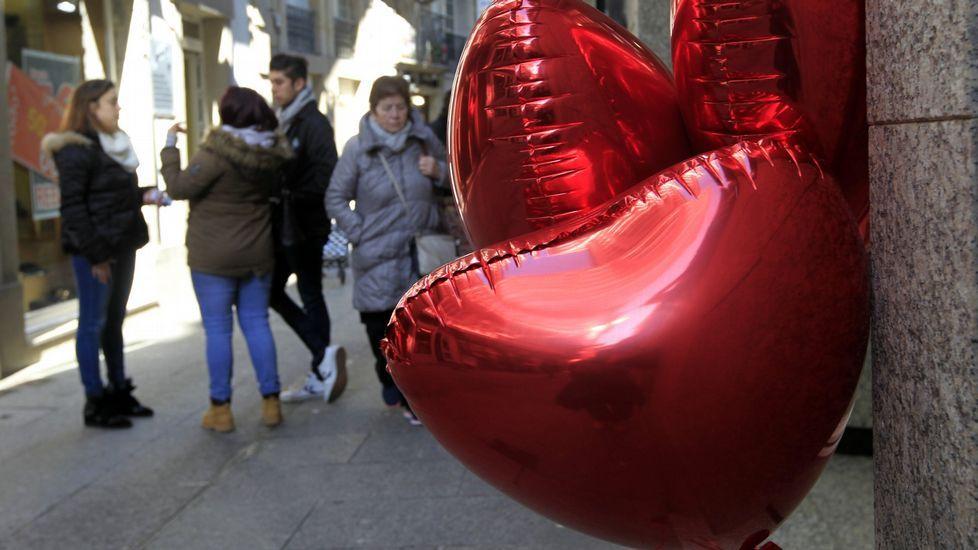 Los comercios participantes se identificarán con globos en forma de corazón