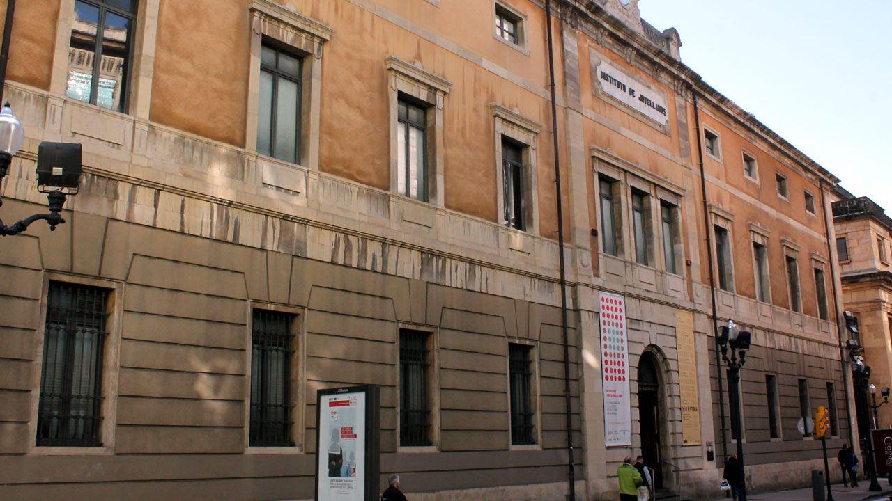 Centro de Cultura Antiguo Instituto, en Gijón