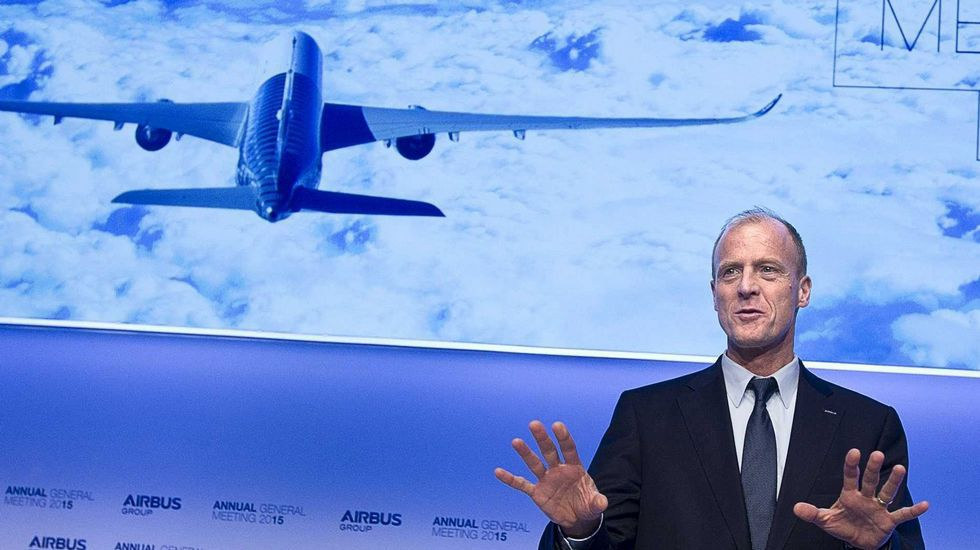 El presidente de Airbus, Tom Enders