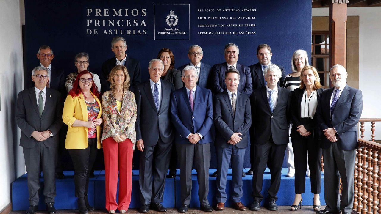 Así es el nuevo edificio del campus de Ourense.El jurado del Premio Princesa de Asturias de Investigación Científica y Técnica 2018, presidido por Pedro Echenique (c), inició hoy las deliberaciones del galardón, cuyo ganador dará a conocer mañana en Oviedo