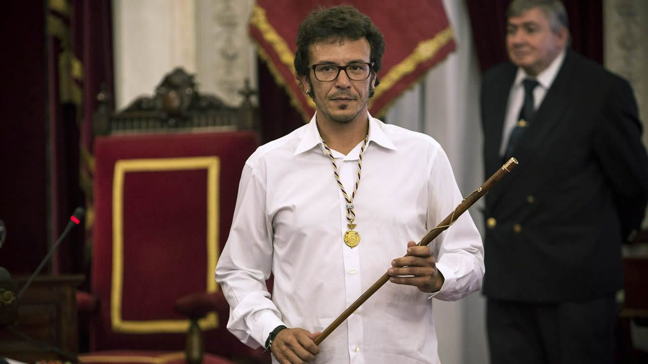 Tuco Cerviño a Pablo Iglesias: «Soy gente normal».Daniel Ripa