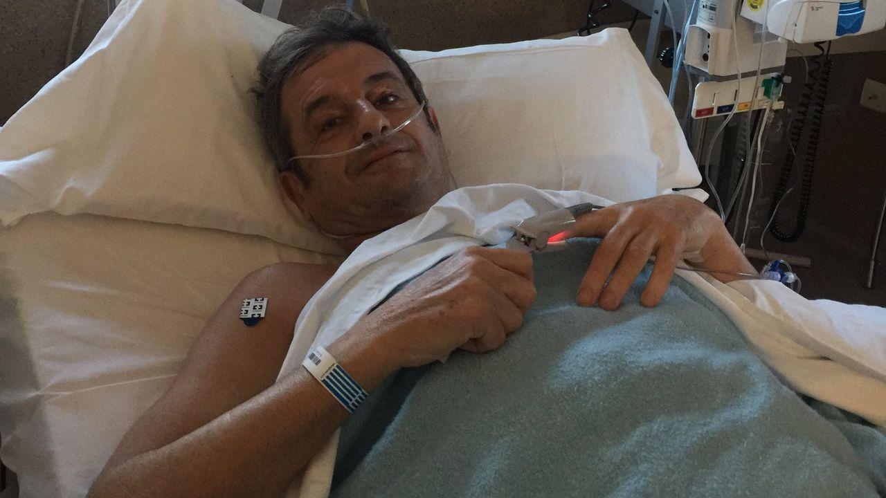 El esperanzador mensaje de Luis Moya tras su aneurisma