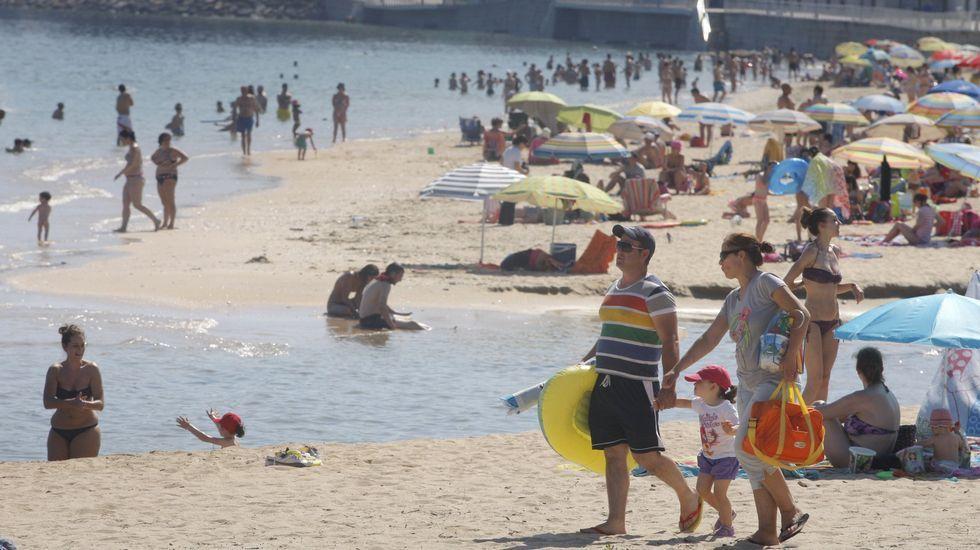 Ribeira. Playa de Coroso