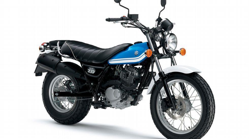 Suzuki VanVan 200, la «fun bike».