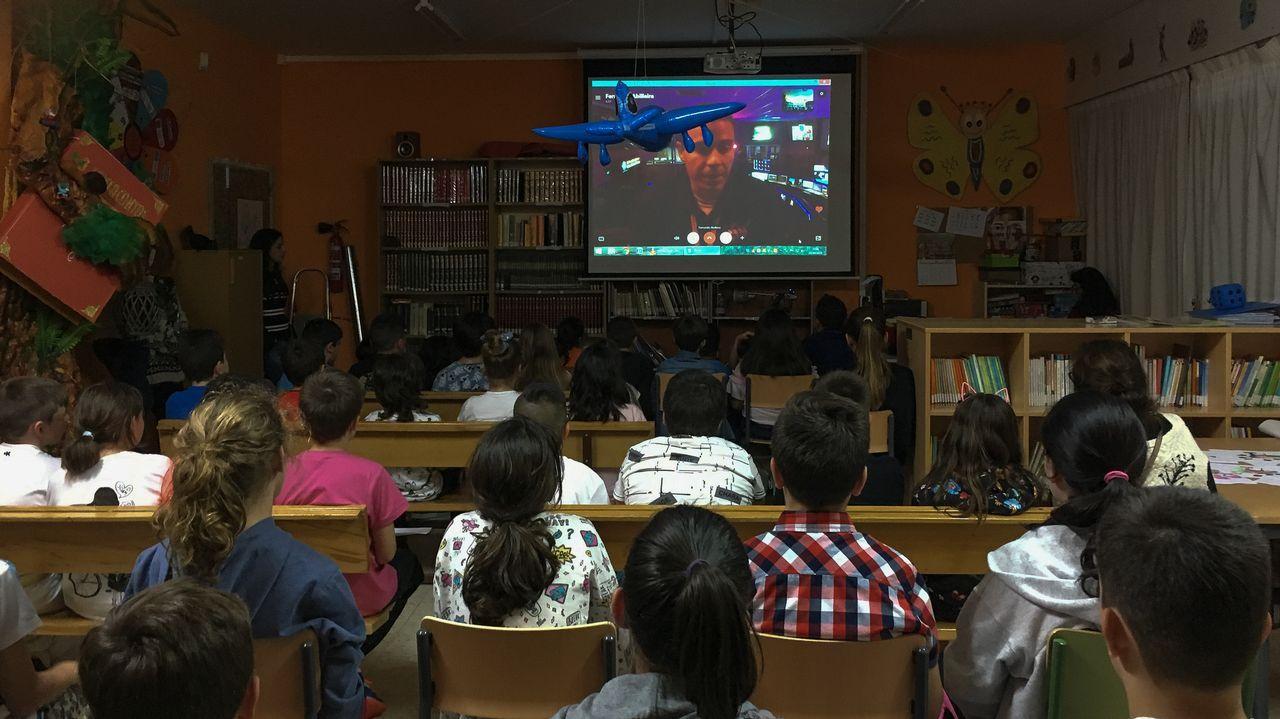 Así fue el lanzamiento de la nueva expedición a Marte.El concejal de Economía del Ayuntamiento de Oviedo, Rubén Rosón