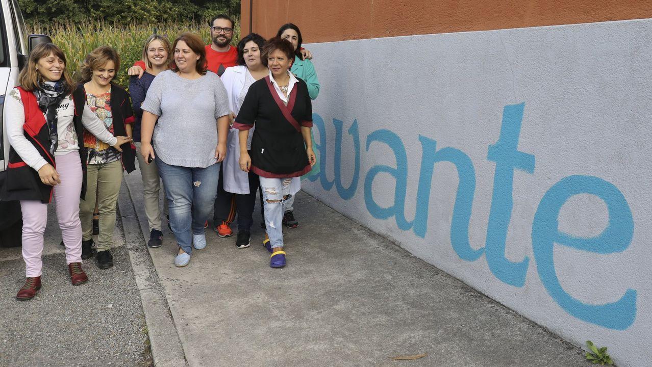 La asociación Avante atiende en su centro a personas funcionalmente diversas.Imagen de un encuentro celebrado en octubre que enfrentó al A. D. Zas Ponciano Nieto (izquierda) al Arteal.