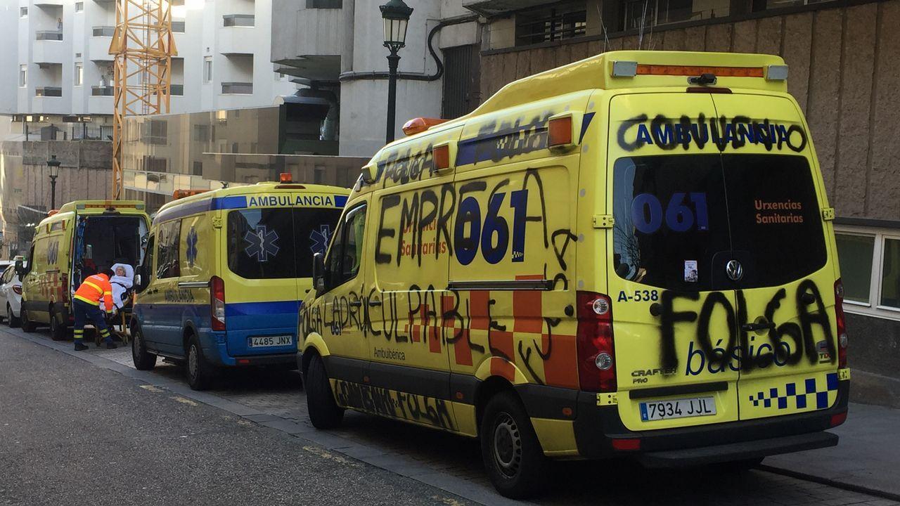 Cuartel de la Policía Local y los Bomberos de Oviedo, en el Rubín