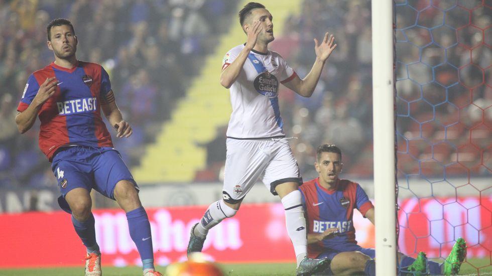 Levante - Deportivo, en imágenes