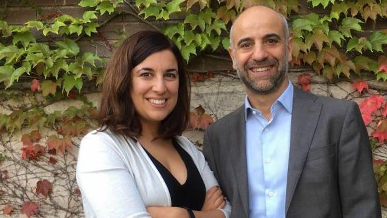 María Salgado y Javier Martínez-Picado