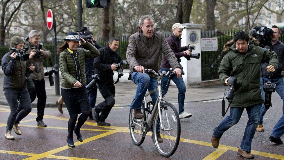 La BBC «trolea» en directo a un diputado.Jeremy Clarkson, en Londres