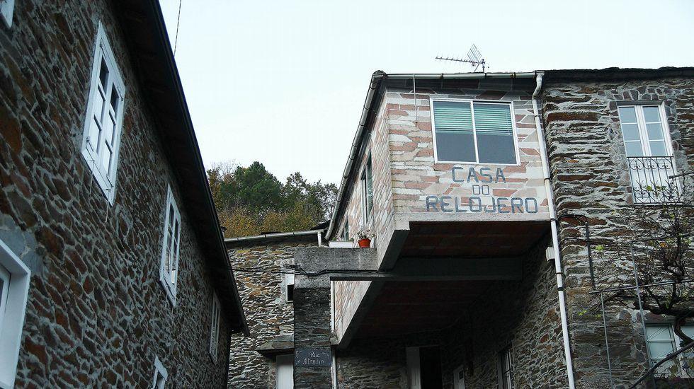 Casa do Relojero, uno de los hospedaje que tuvo el pueblo
