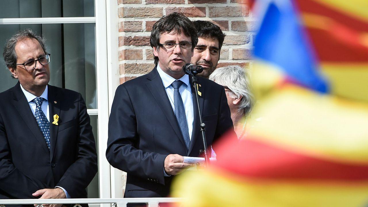 Torra y Puigdemont avisan a Sánchez de que se acaba su «periodo de gracia».Isaac Pola, consejero de Empleo, Industria y Turismo