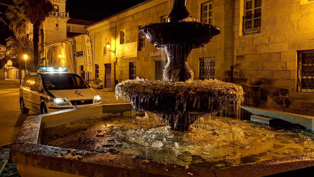 Galicia, de nuevo helada