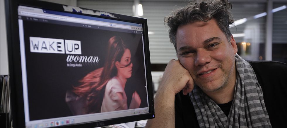 El dramaturgo argentino representará en el pueblo de su bisabuela