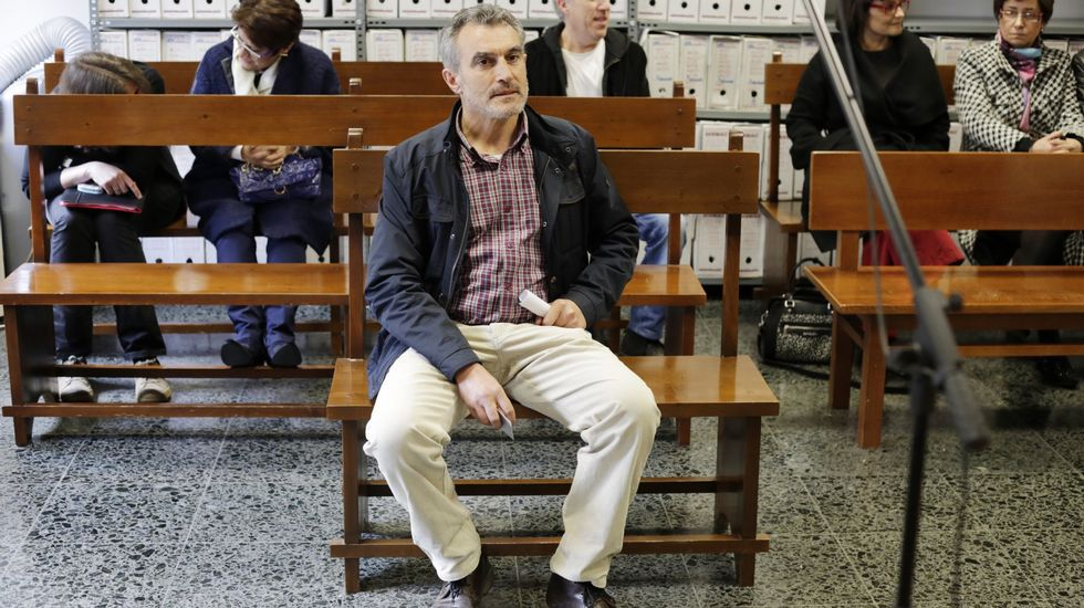 .Xosé Xaquín Rodríguez Ambrosio, durante el juicio