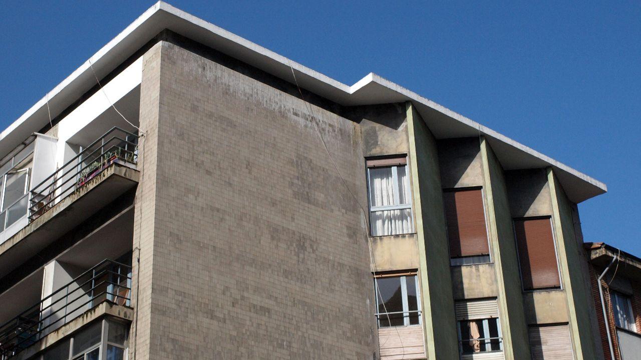 Viviendas en la calle Ramón y Cajal de Gijón.Viviendas en la calle Ramón y Cajal de Gijón