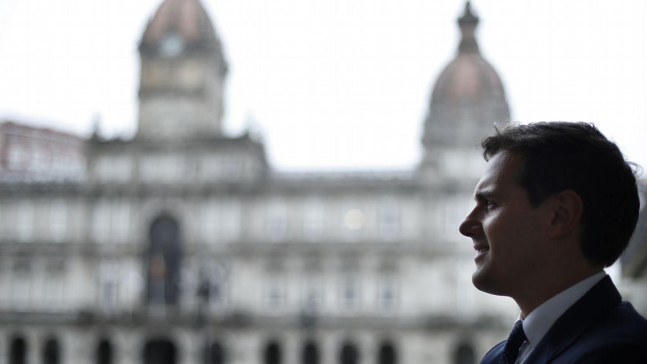 Albert Rivera: «Vamos a ser decisivos para que muchas alcaldías no tengan alcaldes populistas».Nuno Sousa, de Flor de Moda, es administrador de la empresa situada en Barcelos