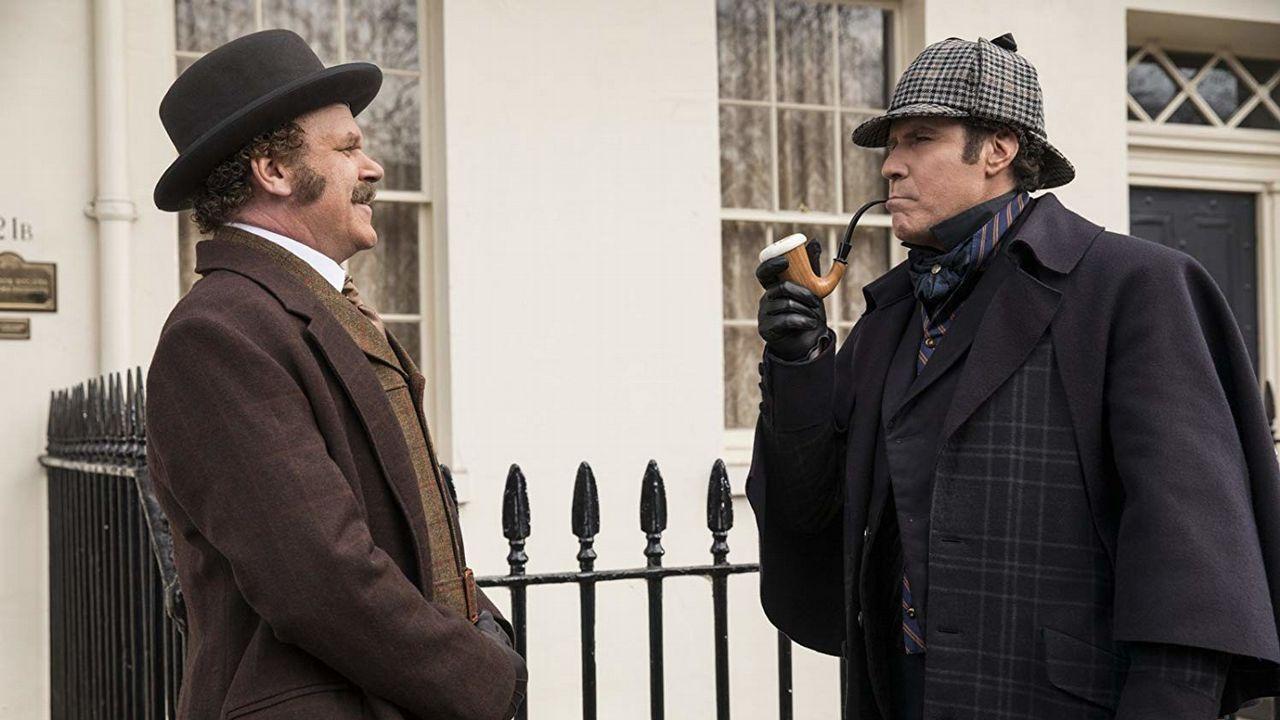 John C. Reilly como Watson y Will Ferrel, como Sherlock Holmes
