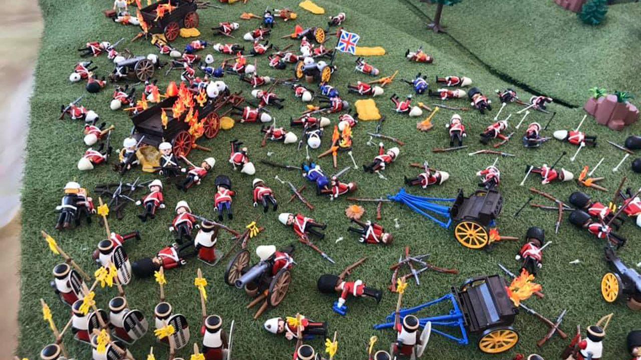 Exposición de Playmobil en Siero.La ofensiva de Haftar sobre Trípoli ha provocado 16.000 desplazados internos