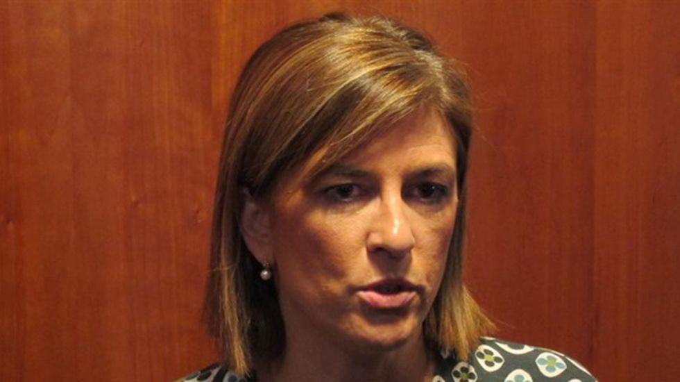 La vicealcaldesa de Oviedo, Ana Taboada (Somos).Isabel Pérez Espinosa