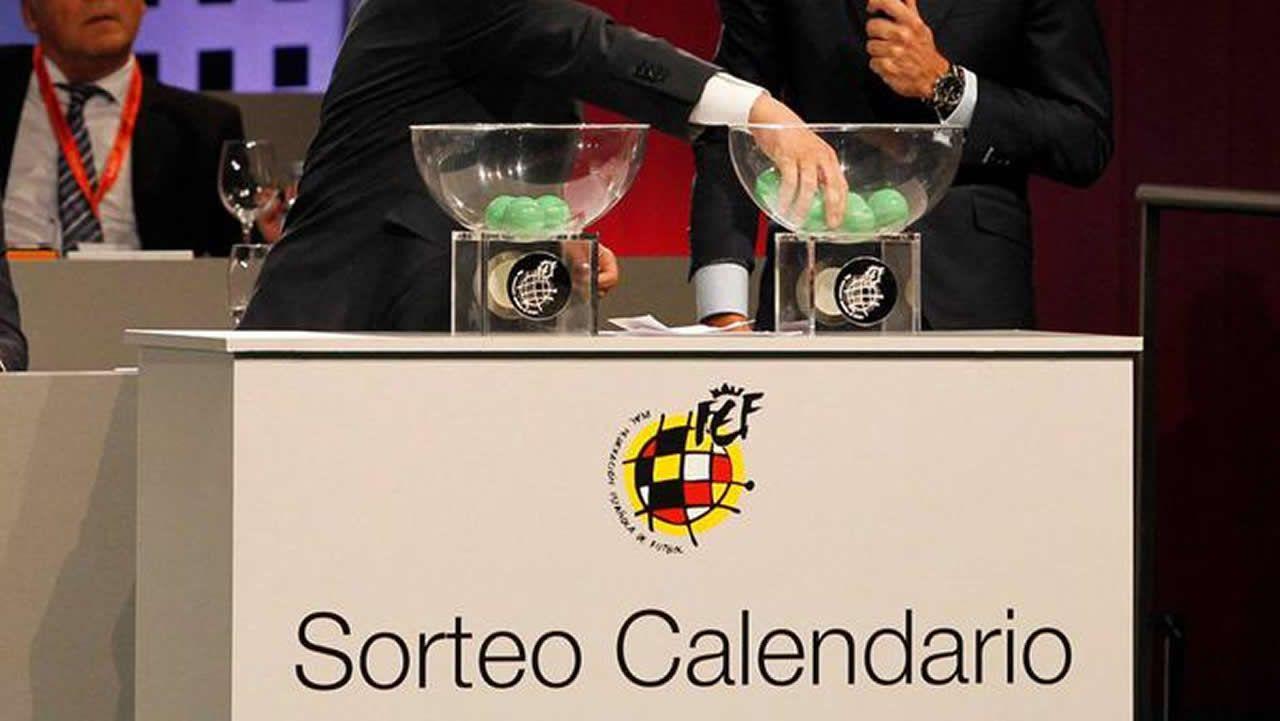 Calendario de la Liga 2018-19, sigue en directo el sorteo.Alfonso Herrero en El Requexón