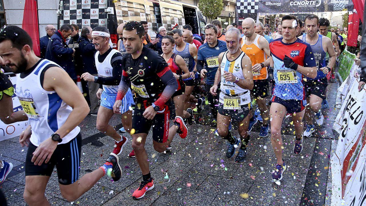 Las mejores fotos de la media maratón Coruña21.Mauro Triana
