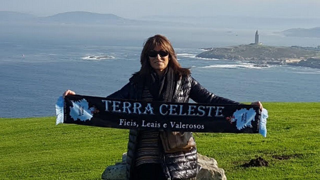 Reyes Álvarez, presidenta de Terra Celeste desde 1999