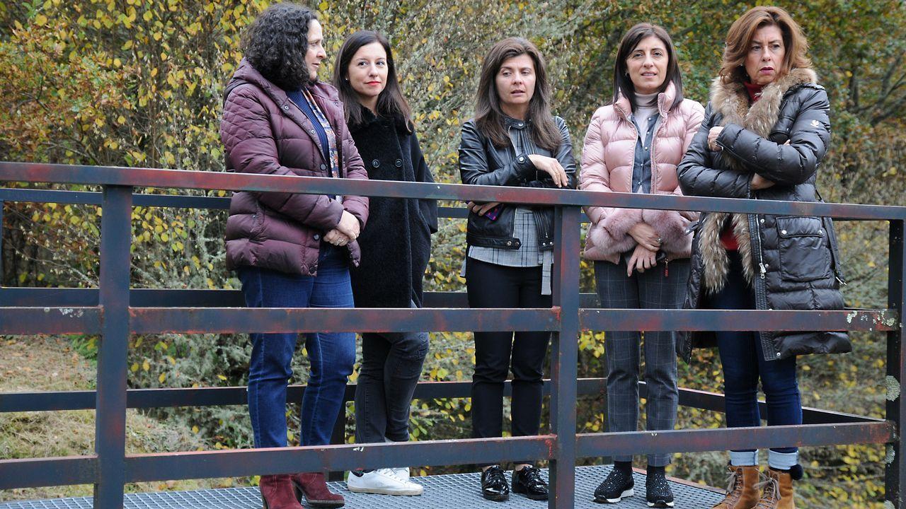Nieve en A Pobra de Trives (Ourense)