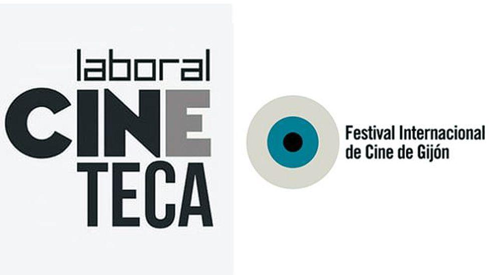 Montaje con los carteles de Cineteca y el FICX