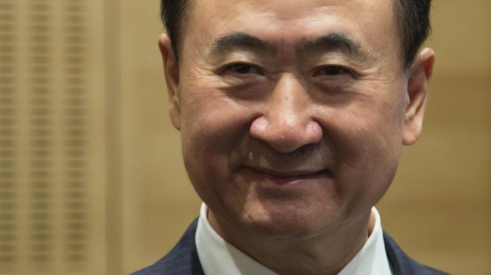 .El millonario chino Wang Jianlin