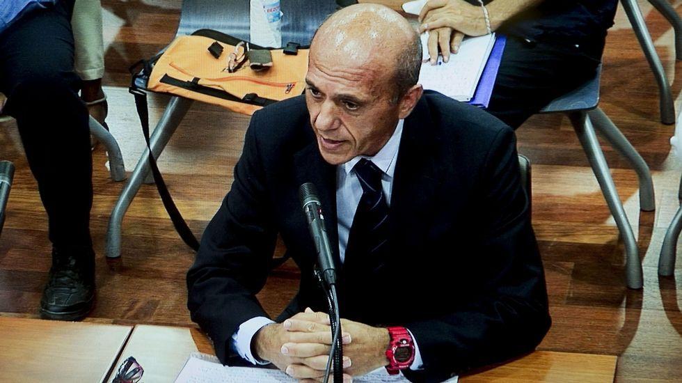 Julián Muñoz pide perdón a Marbella.Última aparición pública de Julián Muñoz, el pasado 3 de septiembreen la Audiencia Provincial de Málaga