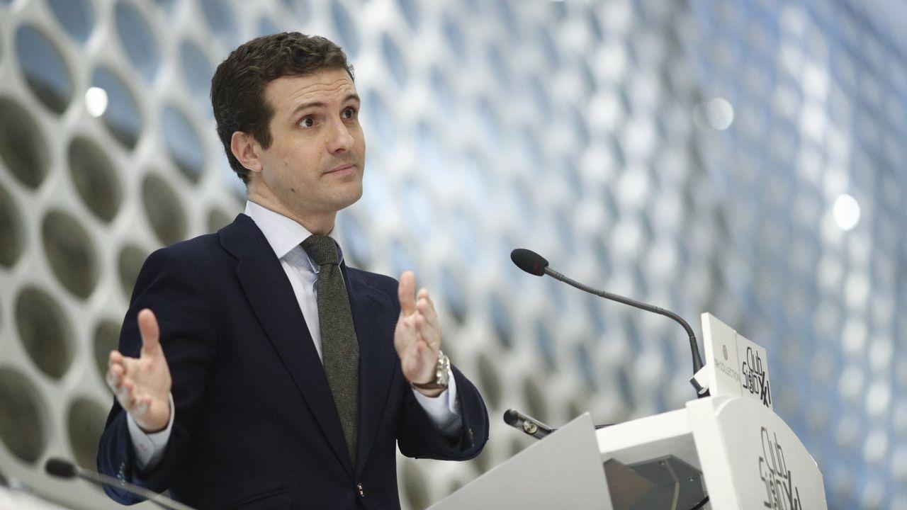 Candidatos autonómicos y municipales del PP.En la imagen, Teodoro García Egea, secretario general del PP