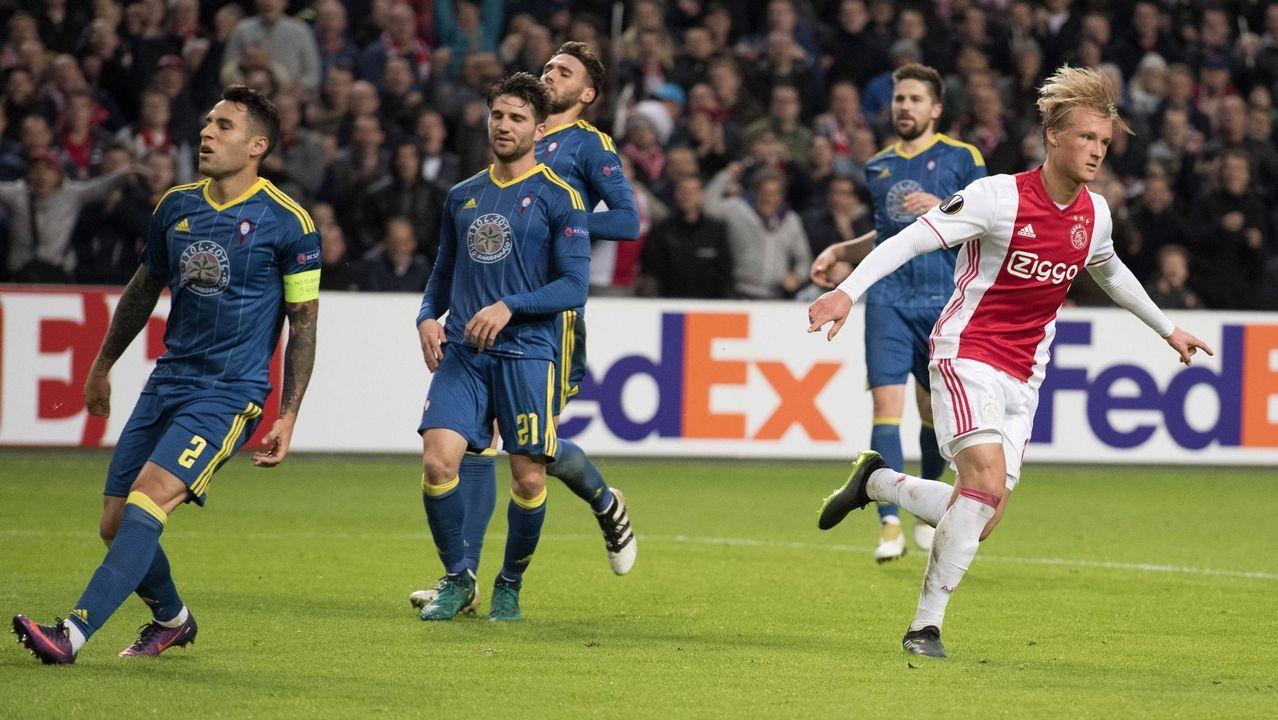 206 - Ajax-Celta (3-2) de Europa League el 3 de noviembre del 2016