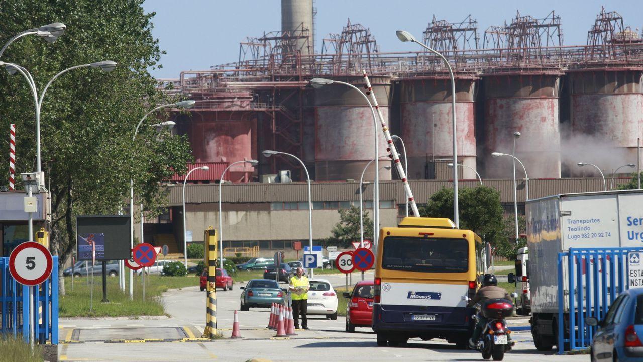 .Alcoa, una de las empresas gallegas con más consumo de energía