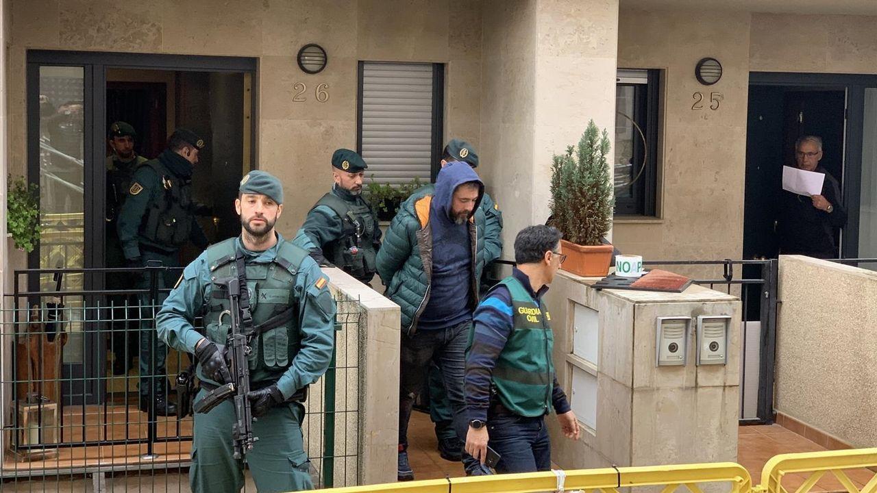La Guardia Civil busca pruebas en la casa llanisca del presunto instigador de la muerte de Ardines.Imagen del supuesto inductor del asesinato de concejal de IU en la localidad asturiana de Llanes, Francisco Javier Ardines González, el 16 de agosto de 2018.