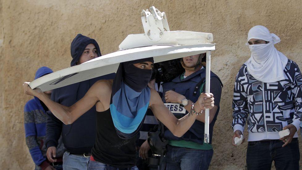 Enfrentamientos en Palestina tras el fallecimiento de dos jóvenes.