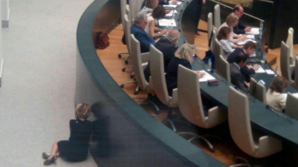 Mercedes Fernández y Cristina Coto, tras el acuerdo de coalición en diciembre