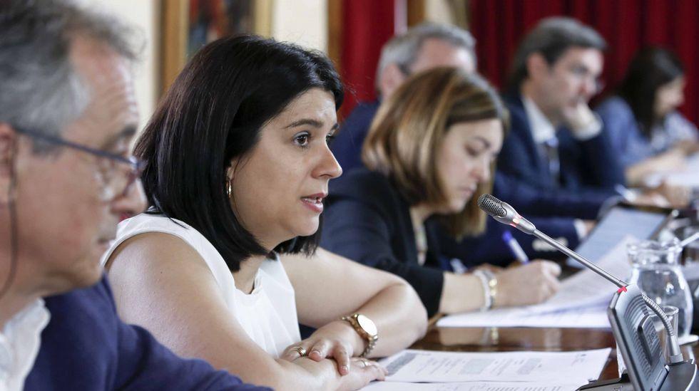 En Vigo el pleno municipal sacó ayer adelante un presupuesto de 233 millones de euros.