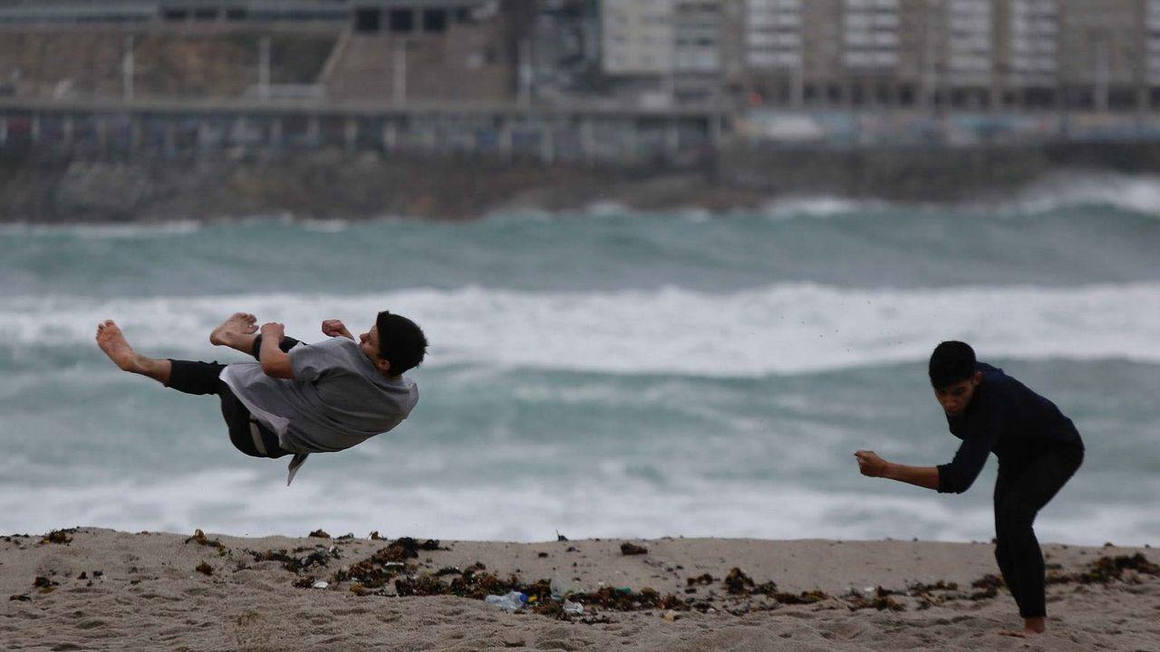 La Dirección General de Protección Civil y Emergencias del Ministerio del Interior pidió extremar las precauciones en Galicia y Asturias ante el fuerte temporal marítimo